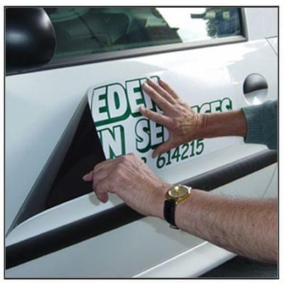 Custom design magnetic vehicle signs[1]